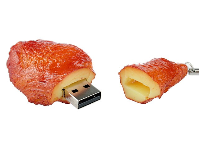 Brando's Chicken, Pork, Pizza and Watermelon USB Drives Are Phenomenally Delicious