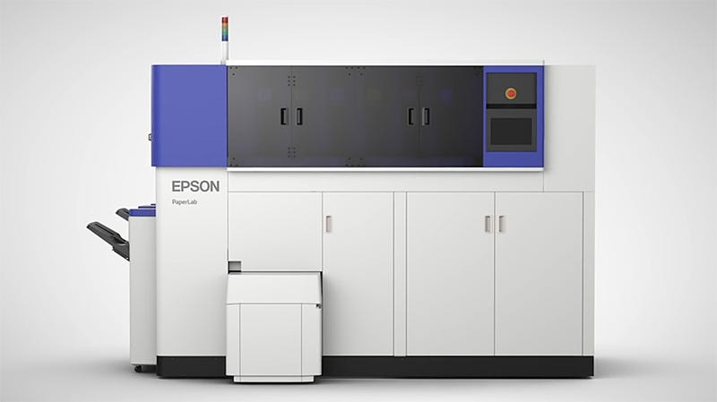 This Ingenious Printer Recycles Scrap Paper Into New Paper Right in Your Office