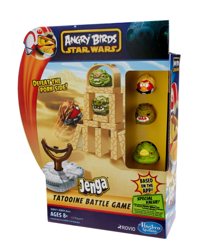 First look at the Angry Birds Star Wars crossover, behold the Pig Star!