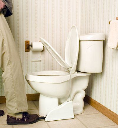 PeaceMaker Toilet Seat Lifter, For Loose Cannons