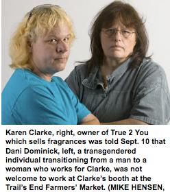 Canadian Farmer's Market Demands Firing Of Transgender Employees