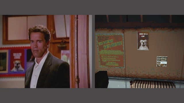 Woah, I Didn't Know Kindergarten Cop Took Place in Silent Hill