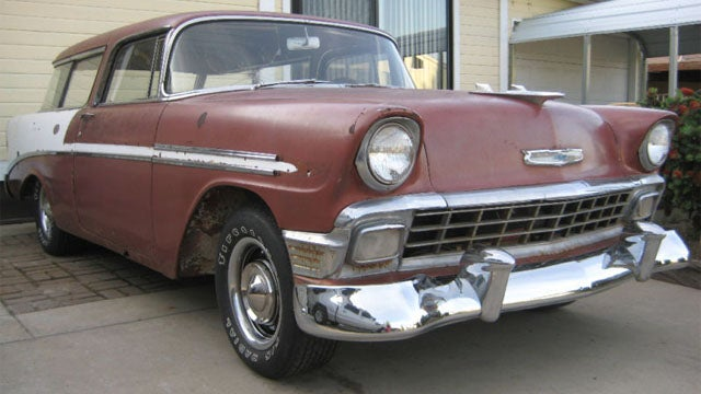 1956 Chevrolet Nomad has serious project car hell potential