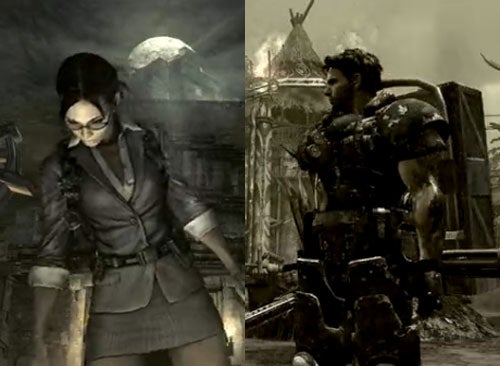 RE5's Chris Is Heavy Metal, But Sheva Is All Business