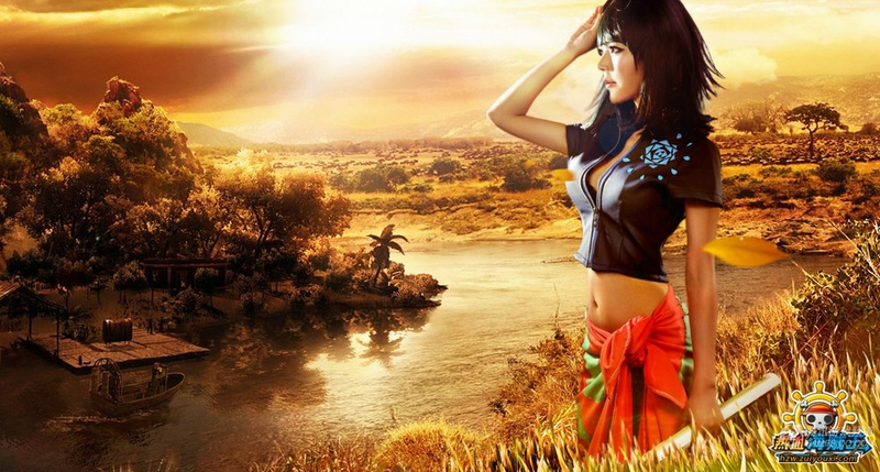 This Isn't One Piece Brought to Life, It's a Photoshop Overdose