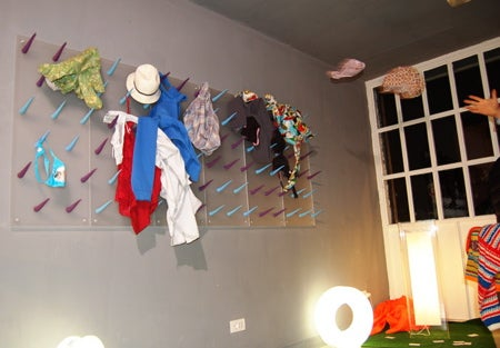 Wardrom by Paula Invites You to Throw Your Clothes on the Wall