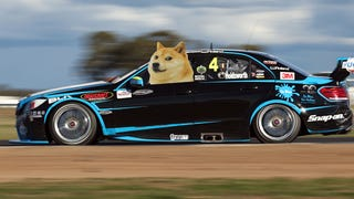 A Dogecoin Mercedes Might Race In Aussie-Rules NASCAR