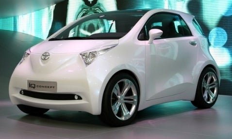Report: Toyota to Produce iQ-Based Subcompact