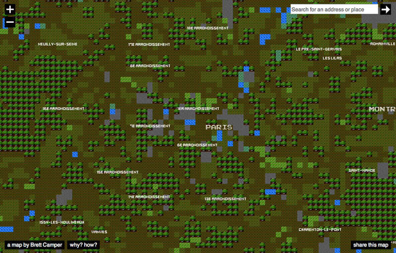 Travel the World with These Interactive 8-Bit City Maps