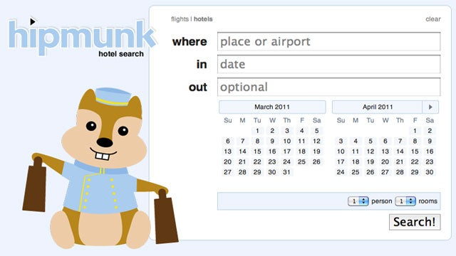 Agony-Free Flight Search Tool Hipmunk Now Searches Hotels