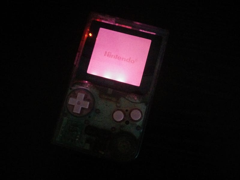 My Backlit Time Machine (Or: Today I Modded a Backlight Into a GB Pocket)
