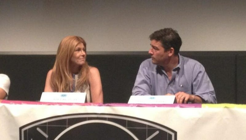 Connie Britton And Kyle Chandler Reunite Because TEXAS FOREVER.