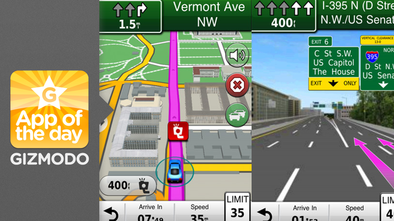Garmin Navigon: An App To Dry Your iOS 6 Navigation Tears