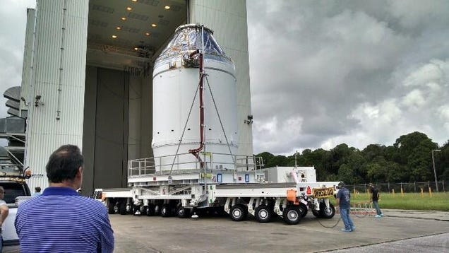 The Orion Spacecraft Is Almost Ready For Testing!