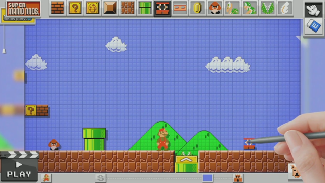 Soon You'll Be Able To Build Your Own Mario Levels On The Wii U