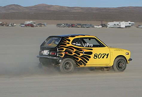 Last Chance for 2007 Land Speed Record Tires