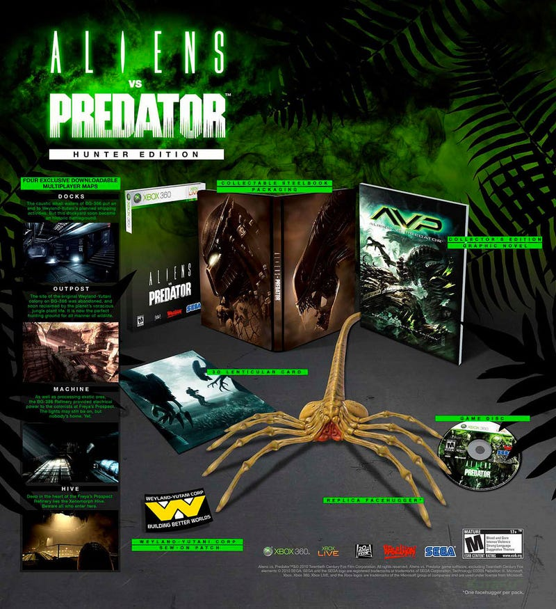 Aliens vs Predator: The Fancy Edition
