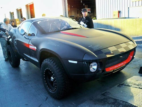 Local Motors' Open Source Rally Fighter Takes First Drive