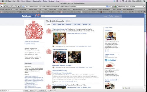 The Royal Family's Facebook Fail