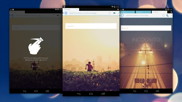 Javelin Browser Is a Fast, Good-Looking Browser for Android