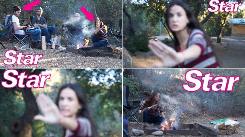 Demi and Ashton Reunite, Freak Out, on Yom Kippur Camping Trip