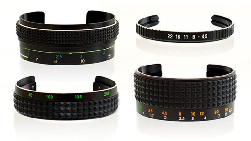 Dead Camera Lenses Can Morph Into Beautiful Bracelets