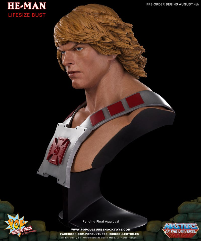 For Nearly $700, One Would Expect He-Man To Show A Little Nipple