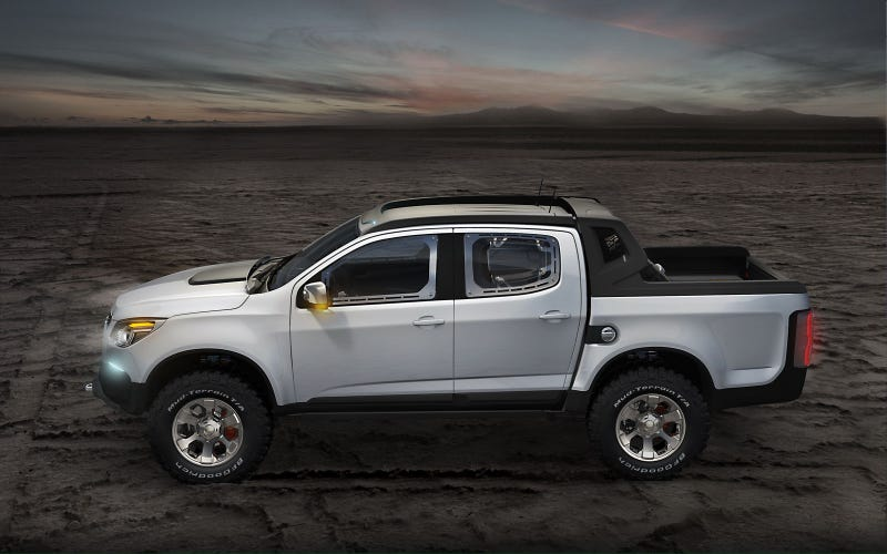 Chevy Colorado Rally Concept's a forbidden Hilux fighter