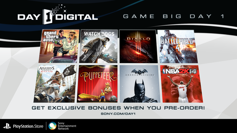 Download Tomorrow's Hottest Games With Day 1 Digital, No Pants Needed
