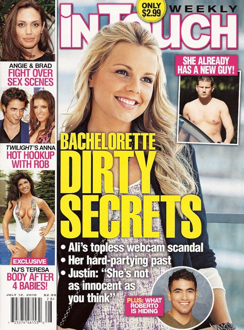 This Week In Tabloids: The Bachelor Dated A Dude