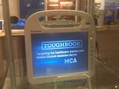 Mystery Intel Tablet is Panasonic Toughbook for Medical Types