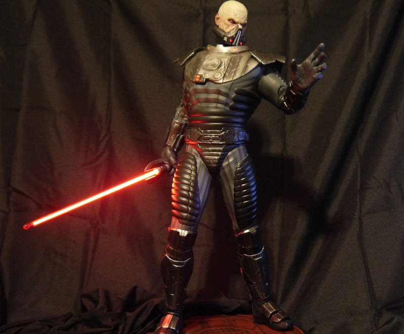 The Greatest Sith Warrior In The Old Republic Is Even Scarier Up Close