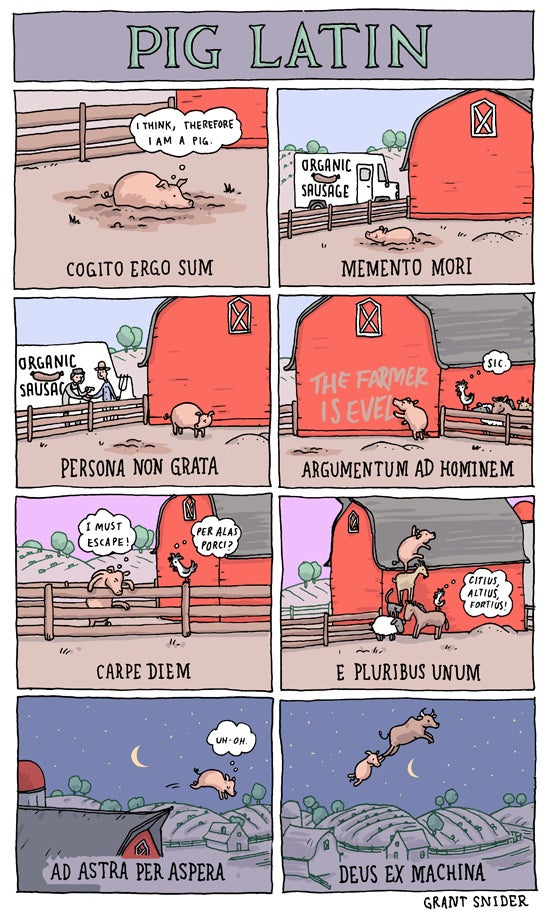 Incidental Comics finds the magic in the mundane (and reveals the secrets of Pig Latin)