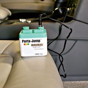Porta Jump Will Jump Start Your Car From the Comfort of the Driver's Seat