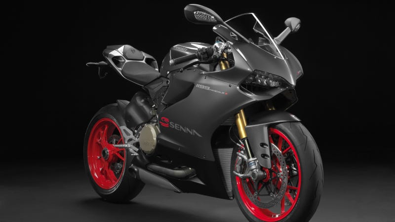 This Brazil-Only Ducati Tribute To Ayrton Senna Is Fit For A Champion