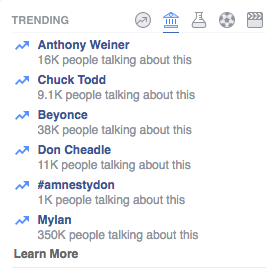 Facebook's Trending News Is A Total Mess