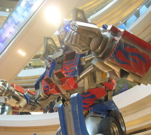 Transformers Invade Hong Kong Mall