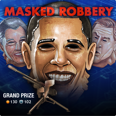 Mafia Wars Offers President Obama Masks In Time For Halloween