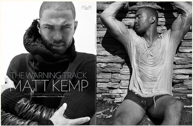 Matt Kemp Poses Shirtless, Sometimes Spends Too Much On Clothes, Wants A Woman He Can Shop With