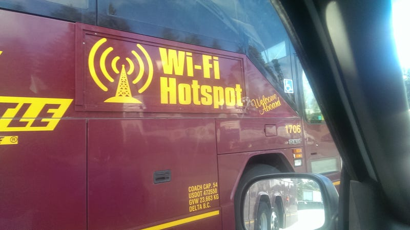 Genius Redditor Finds Way To Get Free WiFi On Road Trip