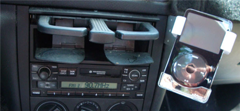 DIY iPod Car Mount On the Cheap