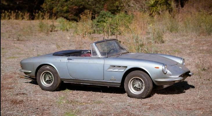 Old Ferrari could fetch $2 million at auction as is.