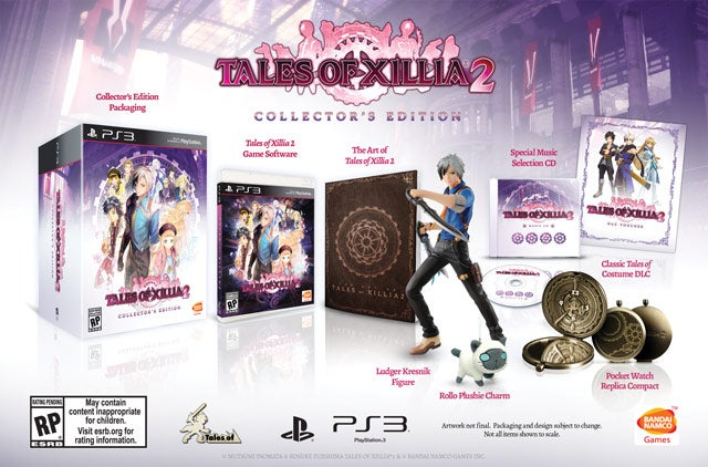 TALES OF XILLIA 2 COLLECTORS EDITION GET!