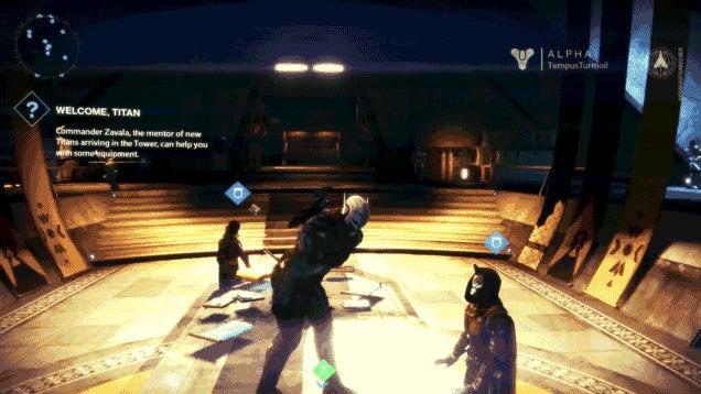 Destiny's Robots Have Some Moves