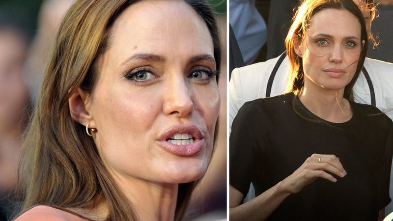 Angelina Jolie Just Can't Seem to Remember to Eat