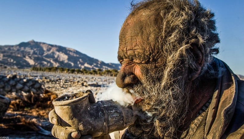 Meet The Man Who Has Not Taken A Bath In Sixty Years