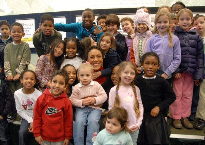 Robin Roberts Celebrates Black History With Rainbow Coalition
