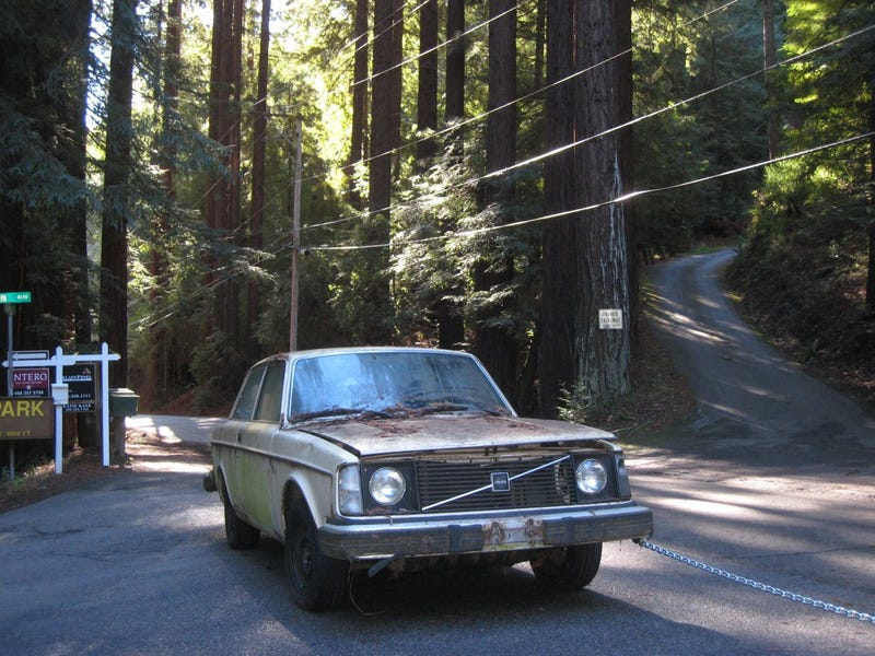 Putting V8s In Volvos Is Like Eating Peanuts: Future Drag Race Car Plucked From Redwoods