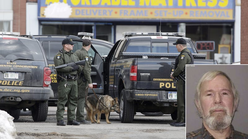 Four Dead in New York Shooting Spree; Fire, 'Explosion' Reported; 64-Year-Old Gunman Still on Loose