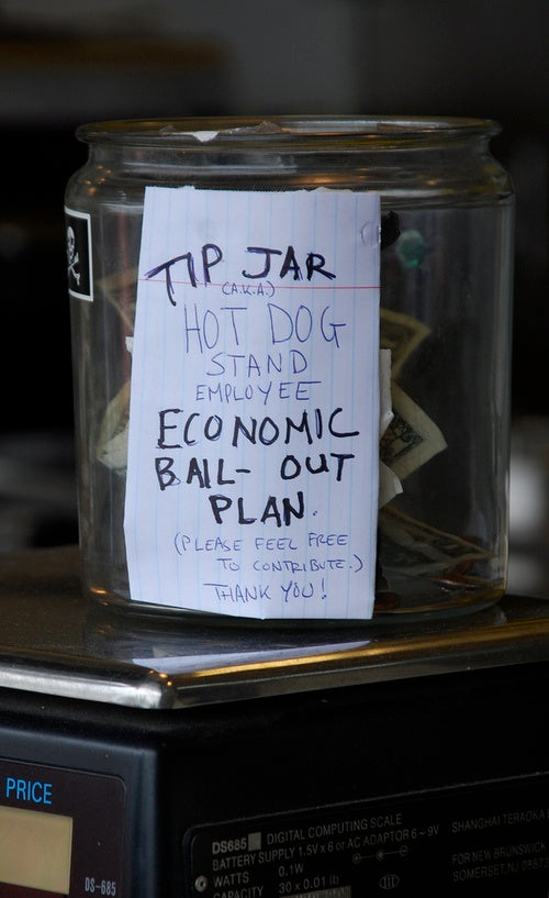 New York's Tip Jar Wars